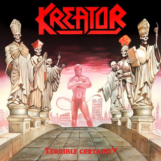 Kreator - Terrible Certainty (1987) Thrash Metal