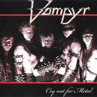 Vampyr - Cry Out For Metal (1985)
