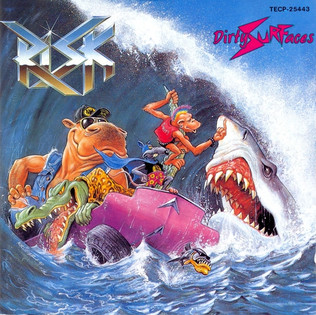 Risk - Dirty Surfaces / Ratman (1990) Speed Thrash Metal